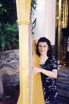 Julie Umbrico, harpist